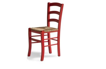 Sedia senza braccioli n sgabelli sedile paglia calligaris in
